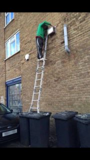 Idiots On Ladders!!