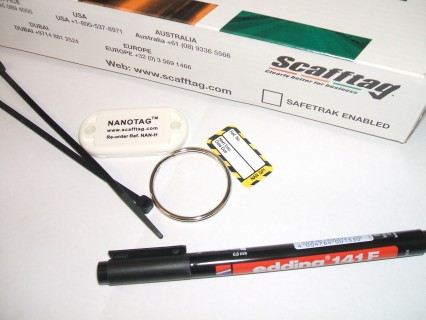 Inspection tag & Review Card £4.95 + VAT