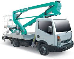 lorry mounted boom