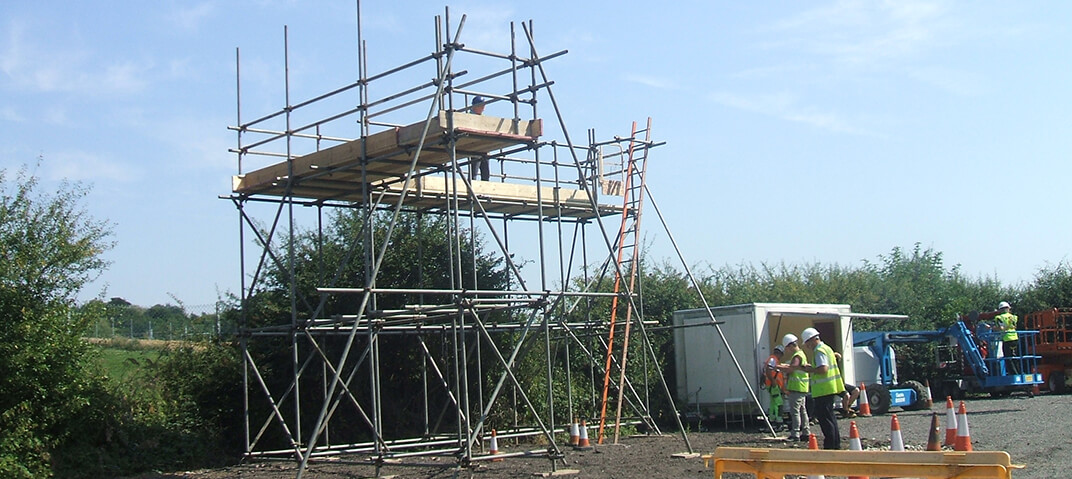 Scaffolding Courses at OTS